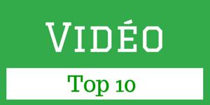 Top 10 vidéo pour Entrepreneurs web, infopreneurs et mediapreneurs
