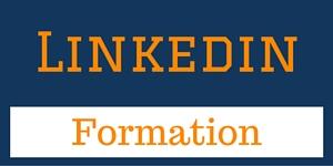 Formation LInkedin en ligne bannière