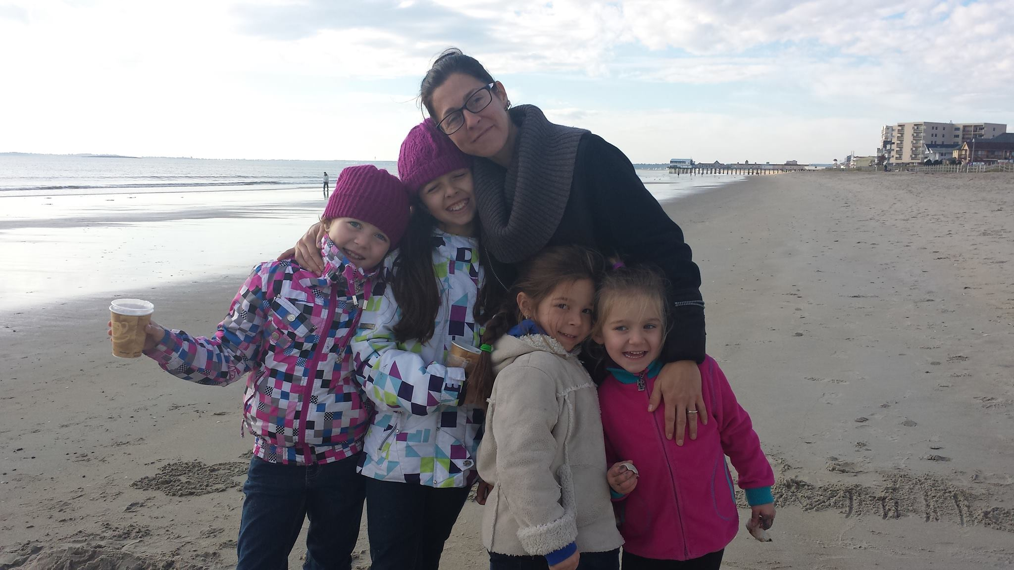 5 femmes à la mer
