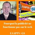 Pourquoi la publicité ne fonctionne pas sur le web